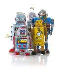 Rétro Tin Clockwork Robots photos stock