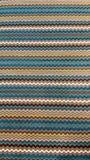 Rétro tissu coloré dépouillé de modèle pour le fond Images libres de droits