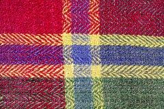 Rétro tissu 3 faits main de fond Image libre de droits