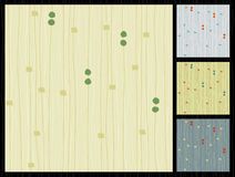 Rétro tissu rayé par Barkcloth Photographie stock libre de droits