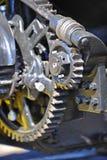 Rétro trains de machine à vapeur photo libre de droits