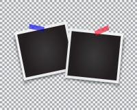 Rétro trames de photo Image libre de droits