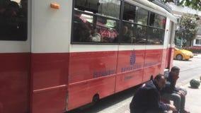 Rétro tramway banque de vidéos