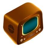 Rétro TV Photos libres de droits