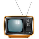 Rétro TV Photographie stock libre de droits