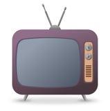 Rétro TV - illustration Photo libre de droits