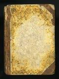 Rétro type Couverture de livre antique de journal de journal intime de vintage photos stock
