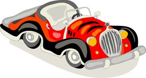 Rétro véhicule Image stock