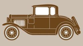 Rétro véhicule illustration stock