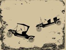 Rétro véhicule illustration libre de droits