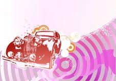 Rétro véhicule Photographie stock