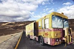 Rétro véhicule de réparation automatique Images libres de droits