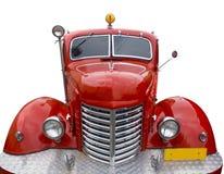 Rétro véhicule rouge Images stock