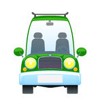 Rétro véhicule vert Image stock