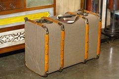 Rétro valise Image stock