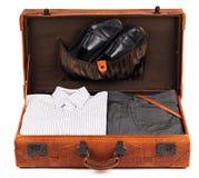 Rétro valise 4 Photos libres de droits