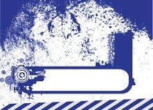 Rétro vecteur de trame Image stock