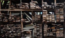 Rétro vieux bois Photos libres de droits