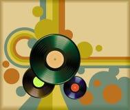 Rétro vinyle Photographie stock libre de droits
