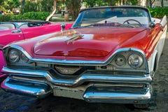 Rétro voiture à La Havane Photo libre de droits