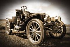 Rétro voiture. Photographie stock