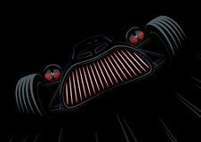 Rétro voiture dénommée de monstre illustration libre de droits