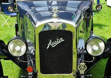 Rétro voiture d'Austin Photo stock