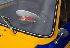 Rétro voiture de police Photographie stock libre de droits
