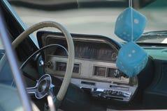 Rétro voiture fraîche image libre de droits