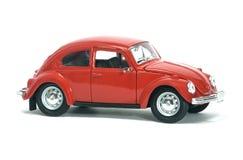 Rétro voiture rouge Photo stock
