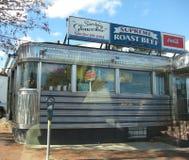 Rétro wagon-restaurant Photos stock