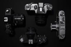 Rétros appareils-photo Photographie stock libre de droits