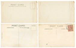 Rétros cartes postales Photos libres de droits