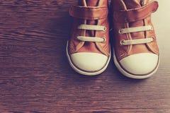 Rétros chaussures Photos libres de droits