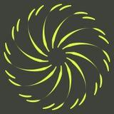 Rétros formes d'éclat de Sun Logo de vintage, labels, insignes Élément de conception de vecteur d'isolement Éclat noir minimal de images stock