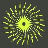 Rétros formes d'éclat de Sun Logo de vintage, labels, insignes Élément de conception de vecteur d'isolement Éclat noir minimal de image stock