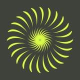 Rétros formes d'éclat de Sun Logo de vintage, labels, insignes Élément de conception de vecteur d'isolement Éclat noir minimal de photographie stock libre de droits