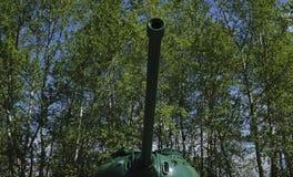 Rétros réservoirs russes de la deuxième guerre mondiale Photo stock