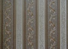 Rétros rayures verticales texturisées et pirouettes de fond unique de papier peint Image libre de droits