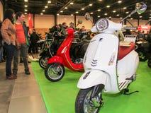 Rétros scooters modèles Images stock