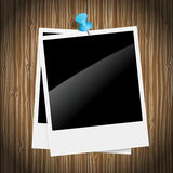 Rétros trames de photo Photo stock
