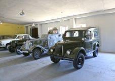 Rétros voitures soviétiques Photo libre de droits
