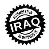 Réuni dans le tampon en caoutchouc de l'Irak illustration libre de droits