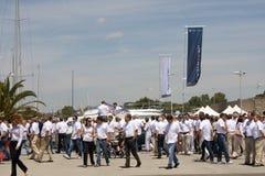 Réunion annuelle Janneau dans l'UTILISATION Italie-ÉDITORIALE Image libre de droits