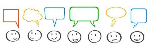 Réunion d'affaires, d'entreprise, communication - vecteur illustration stock