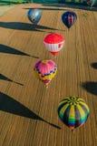 Réunion de ballon d'air chaud de Mondial en Lorraine France Photos libres de droits