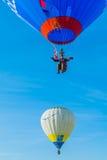 Réunion de ballon d'air chaud de Mondial en Lorraine France Photographie stock
