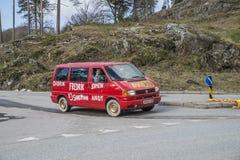 Réunion de Russe (pays se réunissant) à la forteresse 2015 (Russe-voiture) de Fredriksten Photos libres de droits