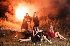 Réunion de sorcières de Whitches Photographie stock libre de droits
