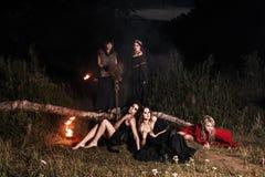 Réunion de sorcières de Whitches Photo stock
